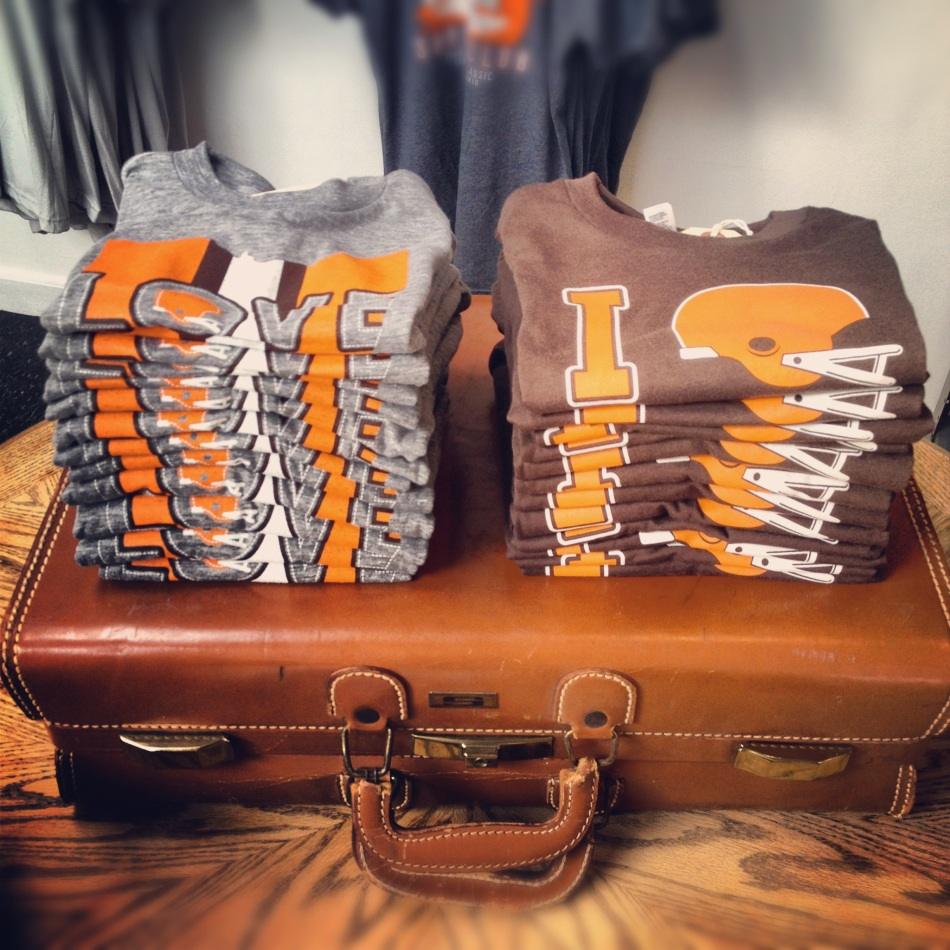 browns toddler tees